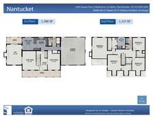 Premier modular homes 609 294 2004 for Nantucket floor plan